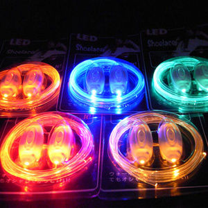 Accessories - LIGHT UP SHOELACES - Glow - LED RAVE Fashion PARTY